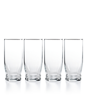 Martha Stewart Collection Glassware, Set of 4 Rhodes Highball Glasses