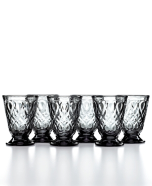 French Home la Rochere Glassware, Set of 6 Lyonnais Goblets