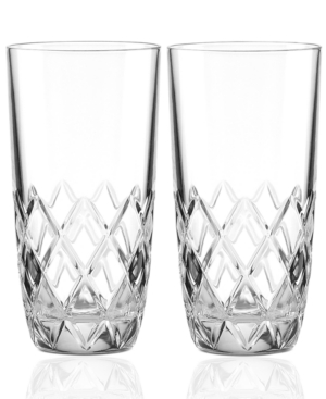 kate spade new york Drinkware, Downing Cuts Avenue Sets of 2