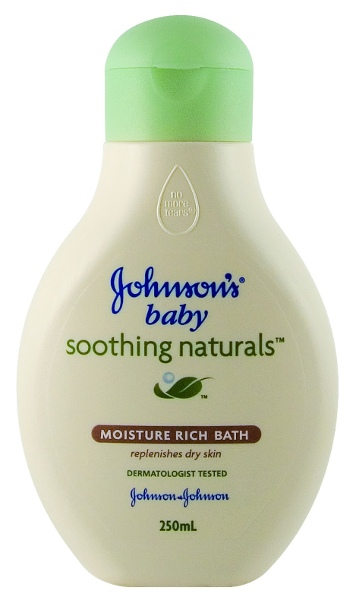 JOHNSON'S Baby Bath Soothing Naturals 250mL