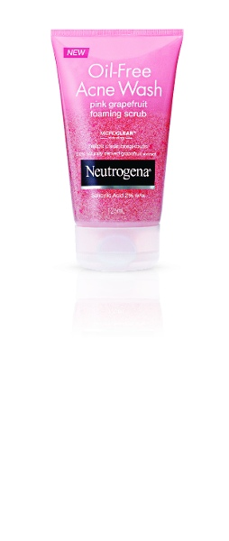 NEUTROGENA Oil-Free Pink Grapefruit Scrub 125mL