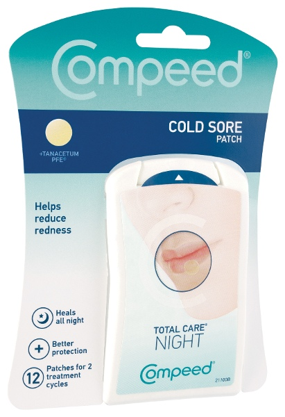 COMPEED Cold Sore Night Patch 12