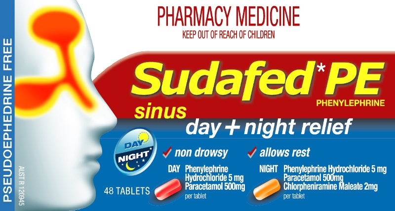 SUDAFED PE Day/Night 48