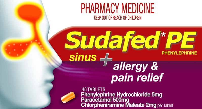 SUDAFED PE Sinus, Pain & Allergy 48
