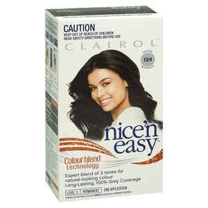 Nice N Easy Permanent Hair Colour - Natural Blue Black