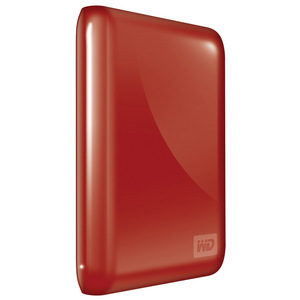 Western Digital My Passport Essential USB 2.0 Hard Drive - 500 GB - Red