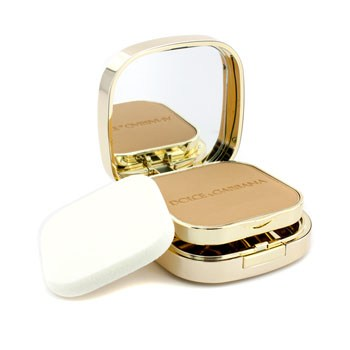 Dolce & Gabbana The Foundation Perfect Finish Powder Foundation (Wet Or Dry) - # 144 Bronze 15g - Make Up