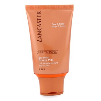 Lancaster Self Tanning Essential Bronze Milk SPF 6 (Face & Body) 125ml - Skincare