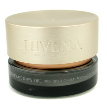 Juvena Regenerate & Restore Rich Night Cream - Very Dry to Dry Skin 50ml - Skincare
