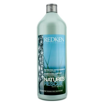 Redken Nature's Rescue Refreshing Detox Shampoo 1000ml - Hair Care