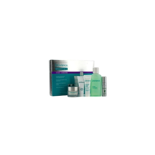 Exuviance Essentials Kit (Normal/ Combination): Cleansing Gel + Eye Complex + Masque + Evening Complex + Perfect 10 Serum - Skincare