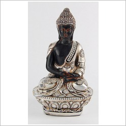 Mondo Gifts - Buddha Sitting on Cushion Statue - Statues & Figurines