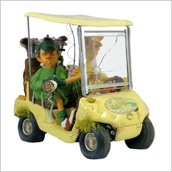 Forchino - Small Next Hole Golf Cart Colour: Green - Statues & Figurines