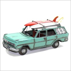 Boyle - EH Station Wagon with Surfboards - Statues & Figurines