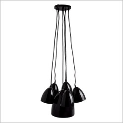 Stoneleigh & Roberson - Multi Hanging Pendant Light Colour: Red - Ceiling Fixtures