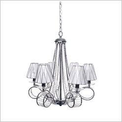 CAFE Lighting - Tamber 6 Light Pendant - Ceiling Fixtures