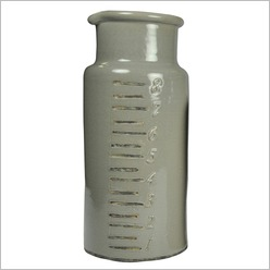 Madras Link - Solution Vases Size: Medium, Colour: Winter Grey - Vases & Urns