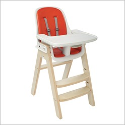 oxo tot - OXO Tot Sprout Chair in Orange / Birch - High Chairs & Accessories