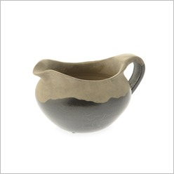 Martinvale - Madera Vase in Mid Black Size: Small - Vases & Urns