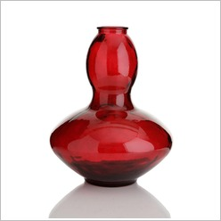 Stoneleigh & Roberson - 43cm Recycled Glass Vase Colour: Clear - Vases & Urns