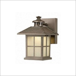 Smarlux - Chill Aluminium Outdoor Wall Lamp in Pewter - Exterior Lighting