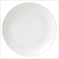 Royal Doulton - Mode Tableware Plate in White - Plates, Bowls & Mugs