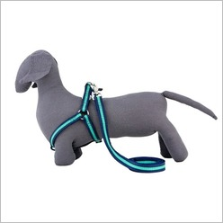 Rufus & Coco - Bronte Dog Harness Size: Medium - Large, Colour: Navy / Green - Harnesses, Leads & Collars