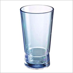 Stoneleigh & Roberson - Contempo Double Layer Acrylic Hi-Ball Tumbler (Set of 12) Size: 16cm - Glasses