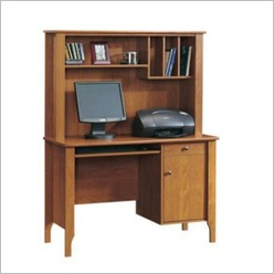 Sauder - Computer Desk with Hutch - Desks