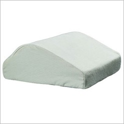 Healthezone - Spine Reliever Memory Leg Wedge Size: Medium - Bed Pillows
