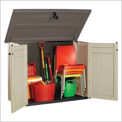 Keter - Extra Large Store it Out in Taupe / Beige - Sheds