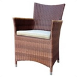 Leblon Outdoor Design - Raffles All Weather Cane Armchair - Living Room Chairs
