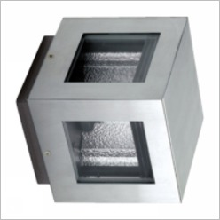 Goccia Illuminazione - K3 Power Stainless Steel Aisi 316L 4 Window with GU 6.5 35W Lamp 20� - Exterior Lighting