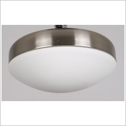 Hunter Pacific - Eclipse E27 Light Kit for Ceiling Fans Finish: Satin Brass - Lighting Accessories