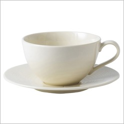 Gordon Ramsay - Maze White Breakfast Cup and Saucer - Plates, Bowls & Mugs