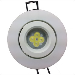 Champlux - 7.35W LED Downlight Colour Temperature: 6500K Cool White - Down Lights