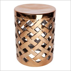CAFE Lighting - Caymen Decorative Stand Colour: White - Side/End Tables