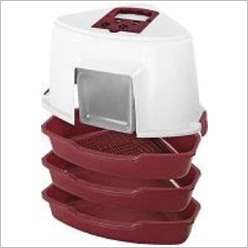 Bono Fido - Corner Cat Toilet with Sifter - Cat Toilets & Litter Trays