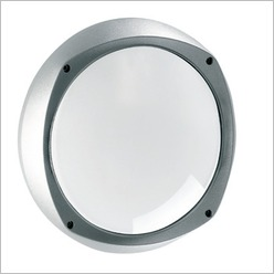 Boluce - Lem E27 Round Bunker Light Finish: White - Exterior Lighting