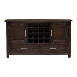 Bay Street - Rosse 1500 Wine Rack in Brushed cappuccino - Wine Racks & Cabinets