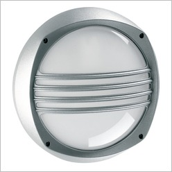 Boluce - Lem E27 Round Bunker Light with Grille Finish: Black - Exterior Lighting