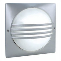 Boluce - Stella Outdoor Wall Light with Grille Finish: White, Globe Type: 1 x 18W TC-D G24 - Exterior Lighting