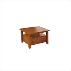 By Designs - Alpine One Drawer Lamp Table in Nutmeg - Side/End Tables