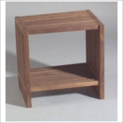 Bay Street - Small Stripe Side Table - Side/End Tables