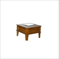 By Designs - Classic No. 5 Lamp Table in Nutmeg - Side/End Tables