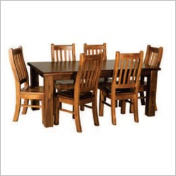 By Designs - Canterbury 180cm 7 Piece Dining Set - Dining Sets