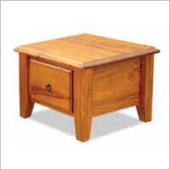 By Designs - Bakersfield Lamp Table Colour: English Oak - Side/End Tables
