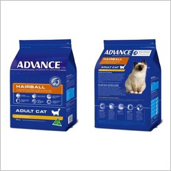 Advance - Advance Hairball Adult Cat Food - Chicken Size: 1.5 kg - Pet Food, Health and Wellbeing