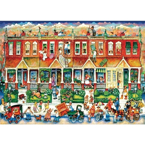 Busy Puzzles - The Antiques 1000 Pcs