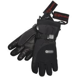 Grandoe STP Sensor Touch Gloves - Waterproof, Insulated, Touch-Screen Compatible (For Women) - BLACK ( M )